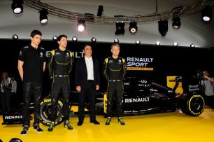 Renault Sport F1 car 2016 and drivers ©Sutton Motorsport Images